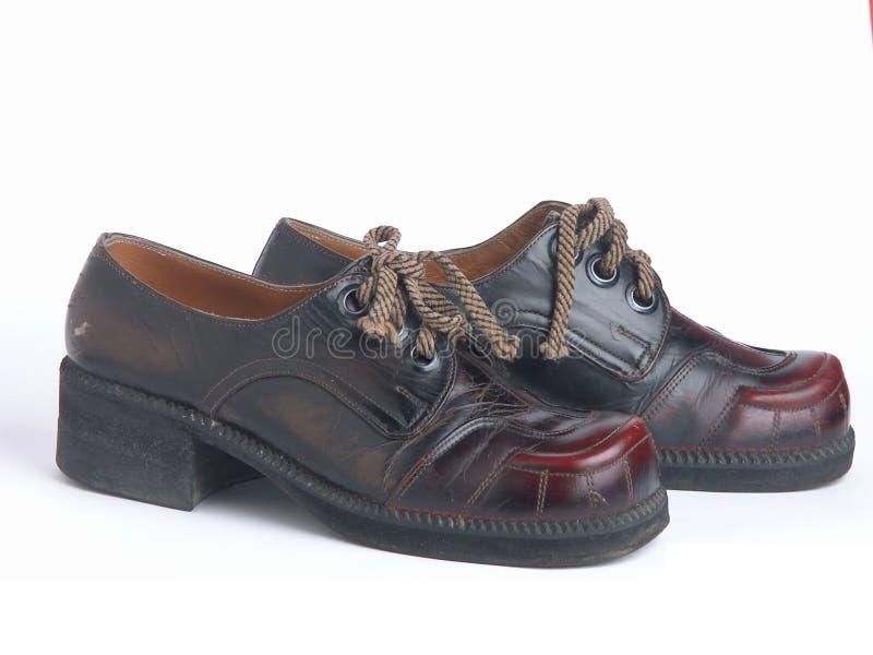 ретро ботинки стоковое изображение rf