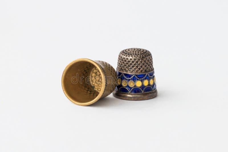 Ретро введенные в моду шить кольца стоковое фото