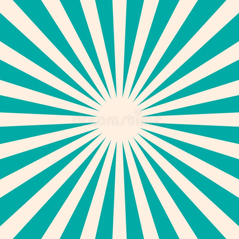 Ретро голубая предпосылка с формой звезды иллюстрация штока