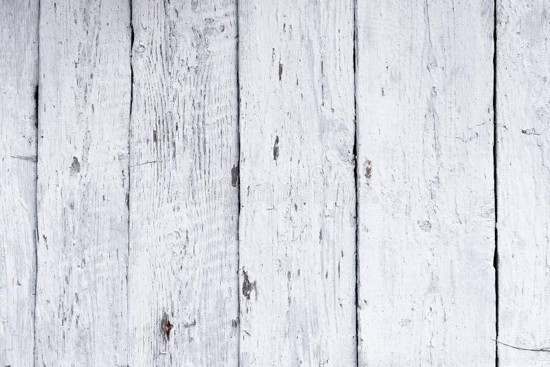 Ретро деревянная известка побелки стены, современный стиль, выдержанный cracky грязный деревянный фон, винтажная предпосылка для  стоковые изображения