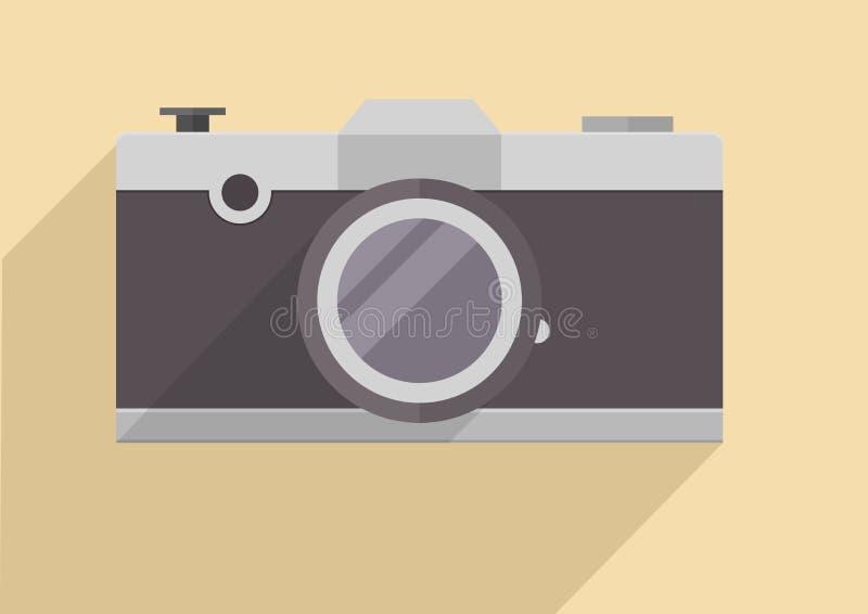 Ретро камера иллюстрация штока