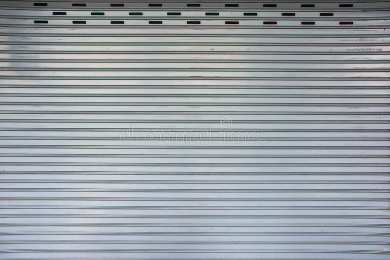 Ретро картина двери гаража matel стоковая фотография