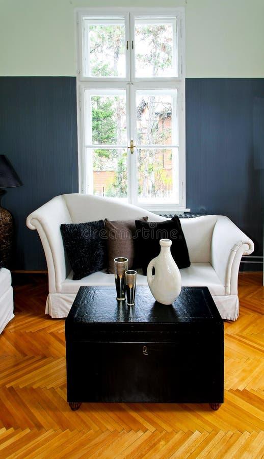 ретро комната стоковое изображение rf