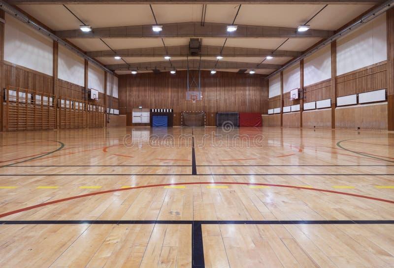 Ретро крытый спортзал стоковое изображение rf