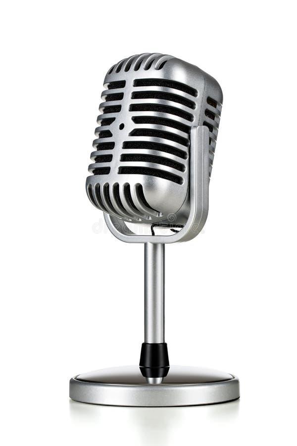 Ретро микрофон стоковые фотографии rf