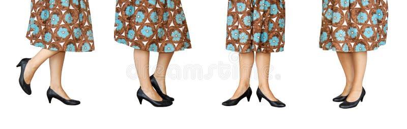 Ретро ноги стоковая фотография rf