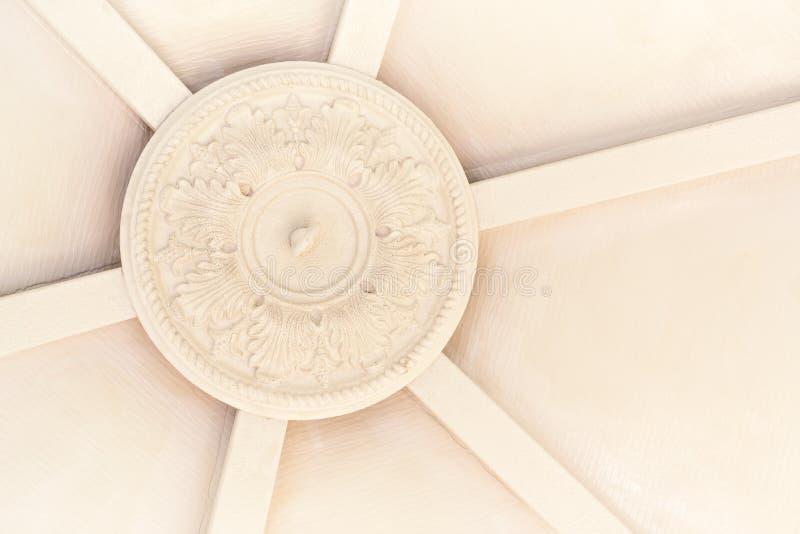 Ретро приспособление потолка стоковое изображение