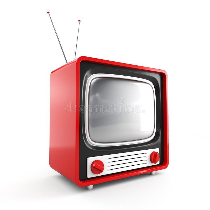 ретро стильный tv иллюстрация штока