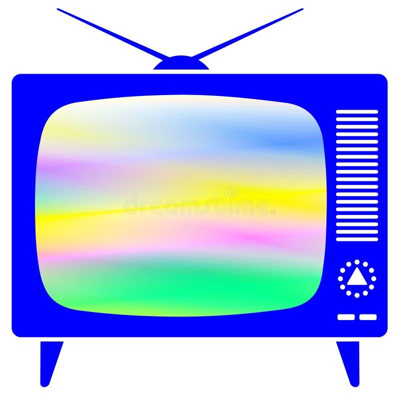 Ретро ТВ бесплатная иллюстрация
