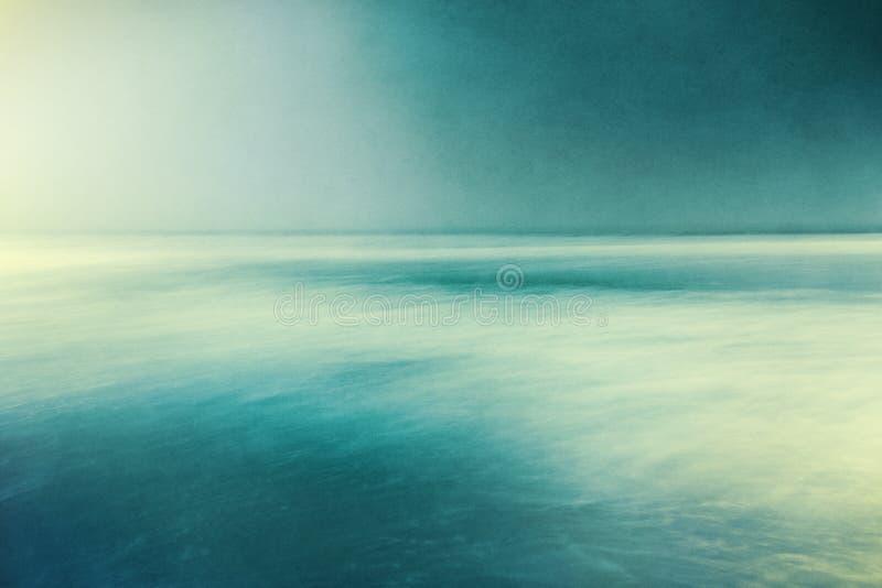 Ретро текстурированный Seascape стоковое изображение rf