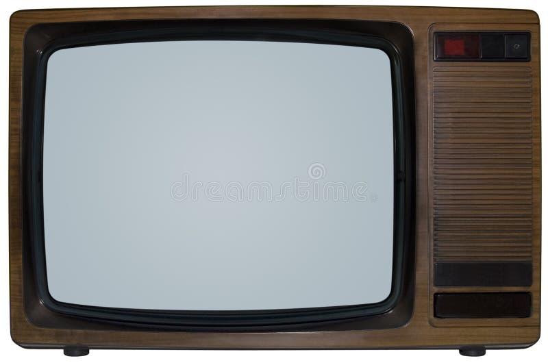 ретро телевидение стоковые фото