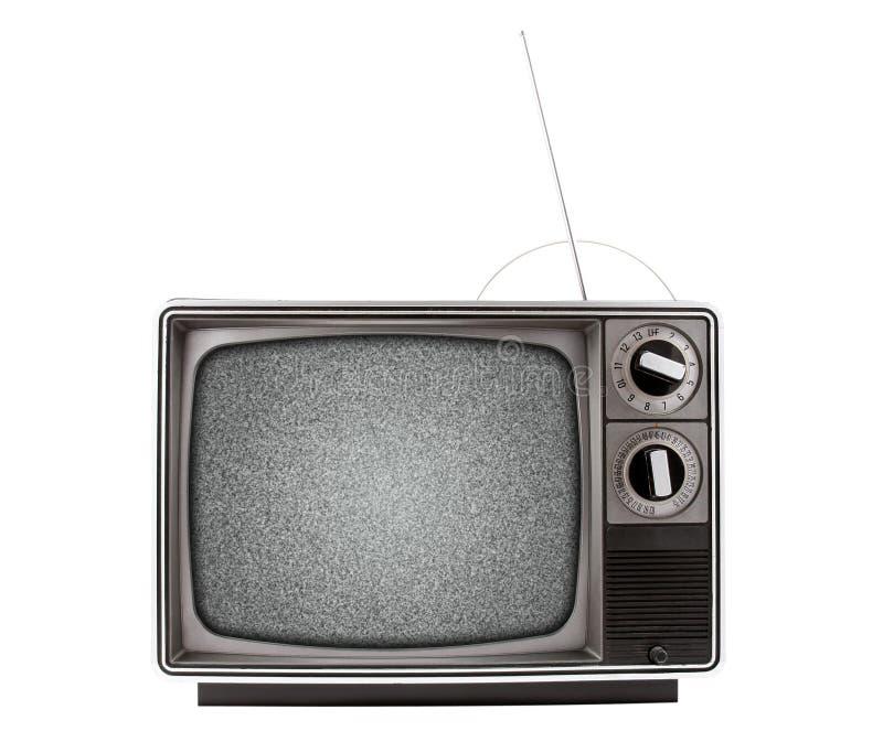 ретро телевидение стоковое фото rf