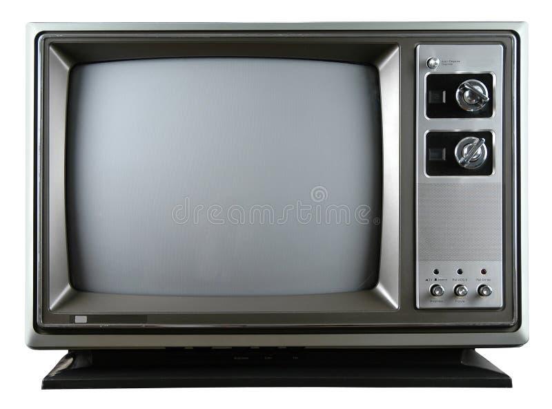 ретро телевидение стоковое фото