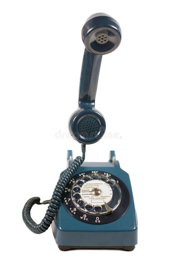 ретро телефон стоковое изображение rf