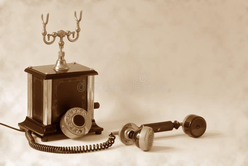 ретро телефон стоковые изображения