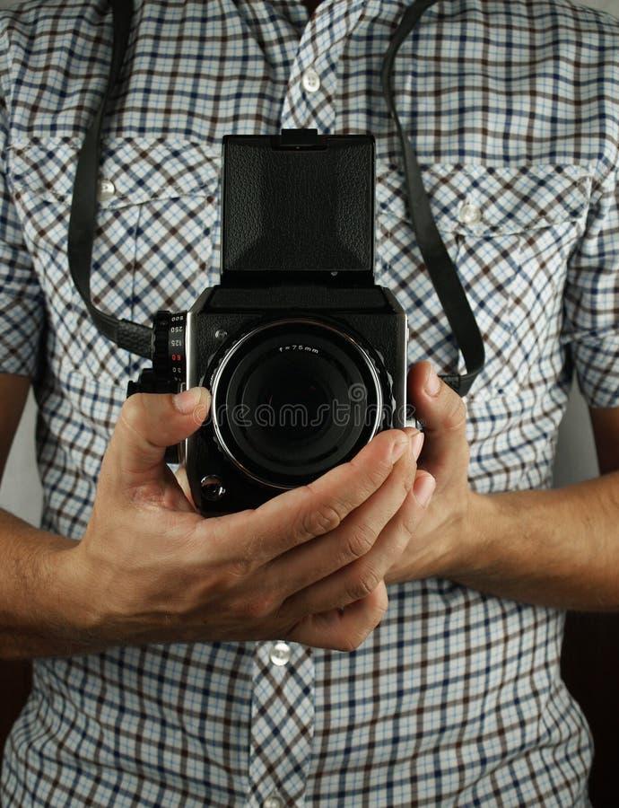 Ретро фотограф стоковое фото rf