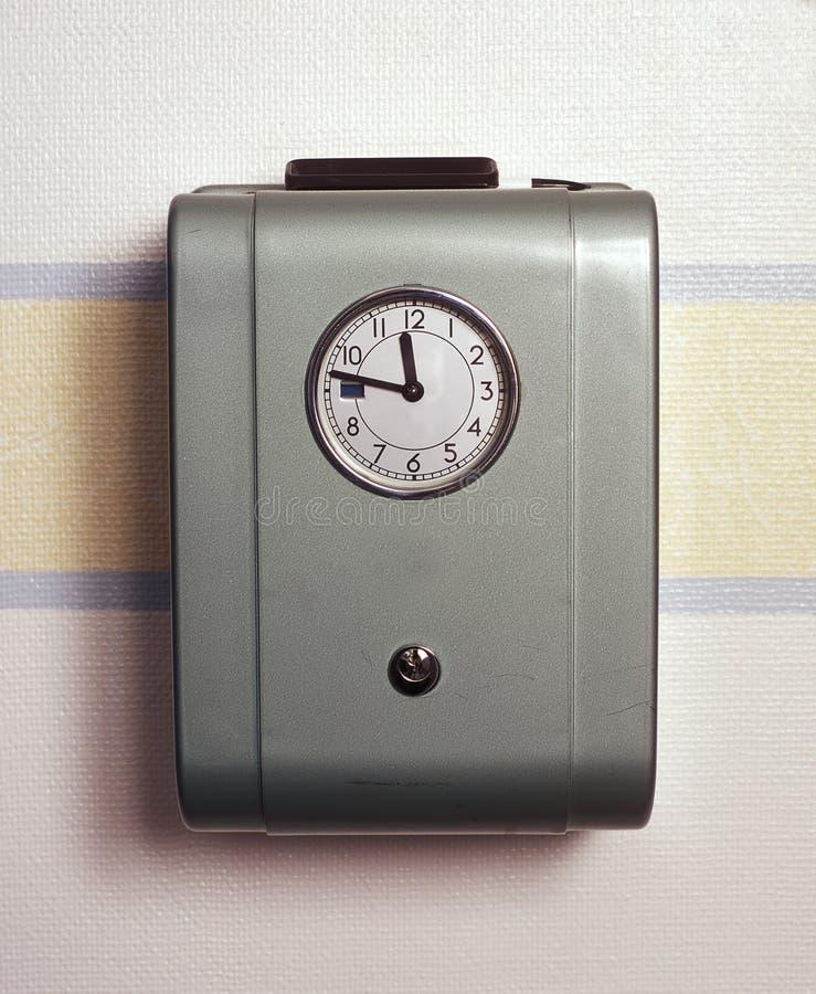 Ретро часы времени стоковое фото rf
