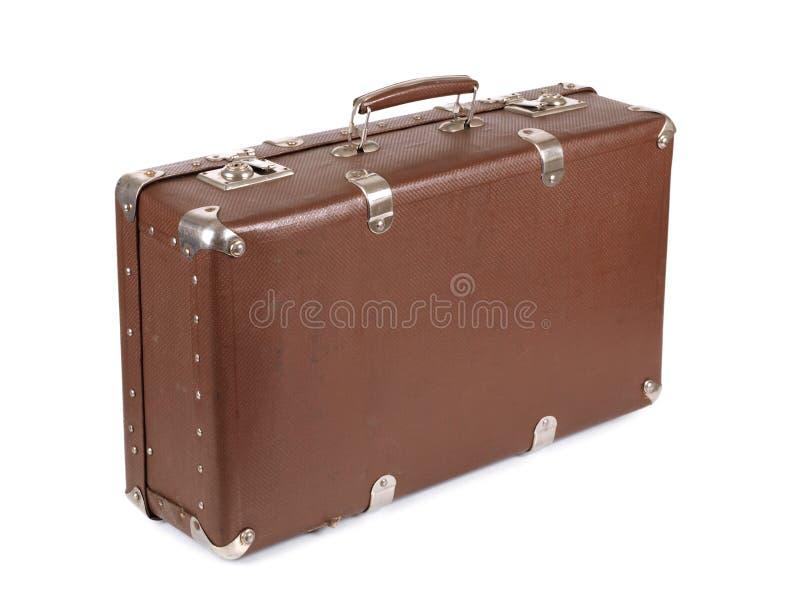Ретро чемодан одно стоковое изображение rf