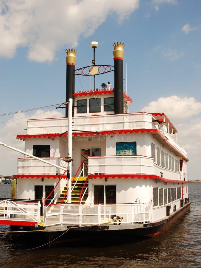 ретро riverboat стоковая фотография rf