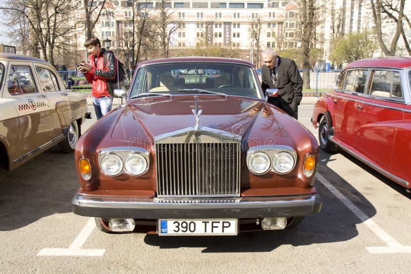 Ретро Rolls Royce стоковое фото