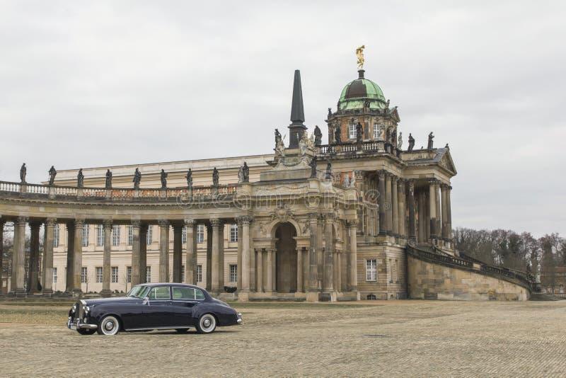Ретро Rolls Royce стоковые изображения rf