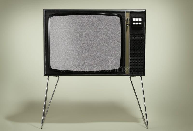 ретро tv стоковая фотография