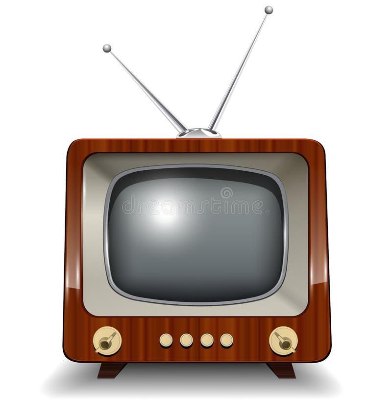 ретро tv бесплатная иллюстрация
