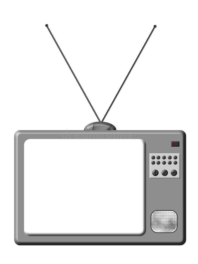 ретро tv иллюстрация вектора