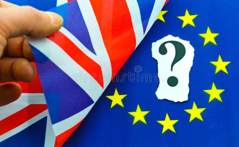 Референдум Brexit Великобритании EC стоковые изображения rf