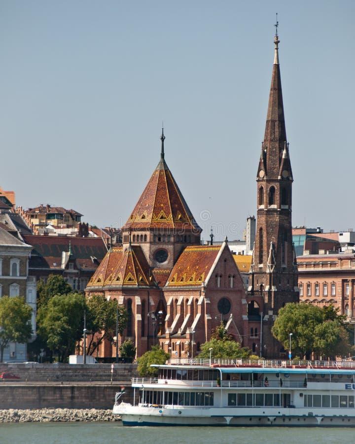 реформа Венгрии церков budapest budai стоковые изображения