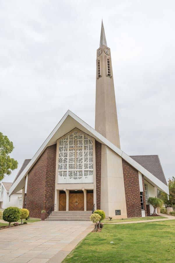 Реформированный голландцем запад Vredendal церков стоковое фото rf