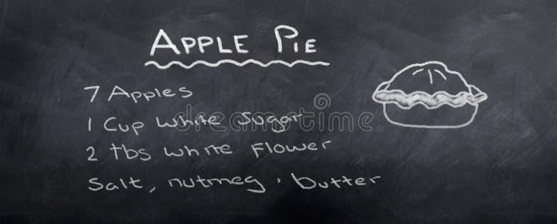 рецепт расстегая яблока бесплатная иллюстрация