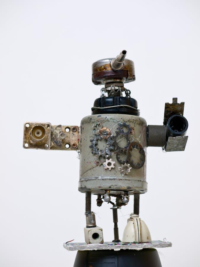 рециркулированный робот стоковое фото