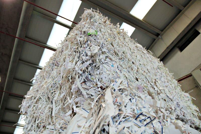 рециркулировать бумаги принципиальной схемы стоковая фотография rf