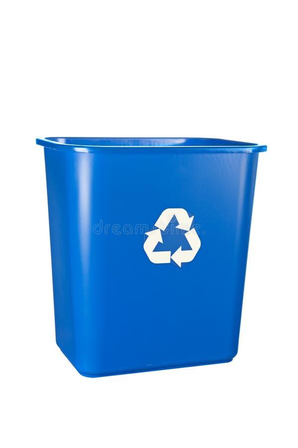 рециркулировать сини ящика стоковое изображение
