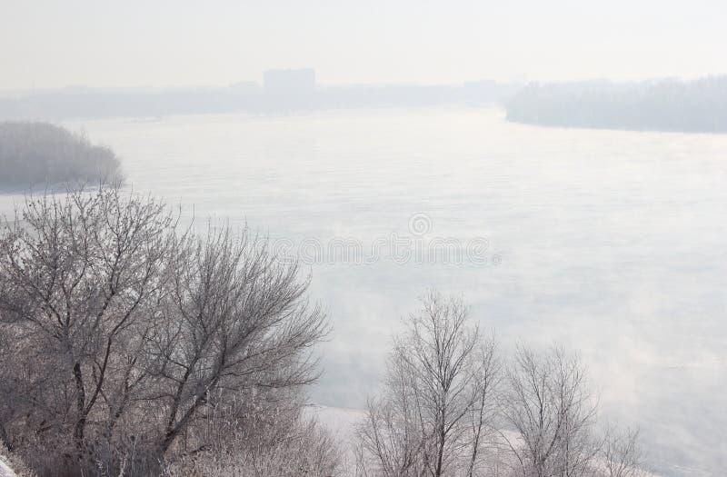 Речной берег Иртыш - III стоковое изображение rf