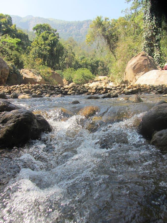Речной порог реки стоковые изображения rf