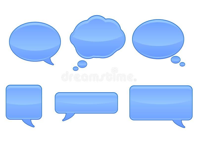 речь икон eps пузыря иллюстрация штока