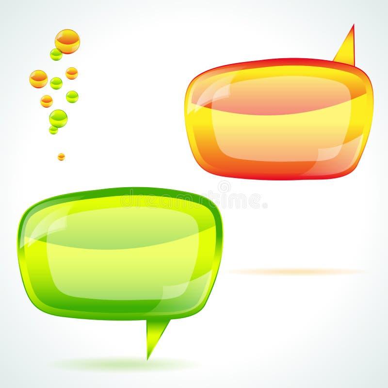 речь пузыря иллюстрация штока