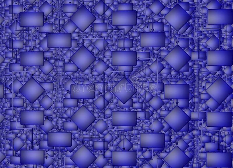 Решение проблемы Правильное решение flowchart иллюстрация 3d иллюстрация вектора