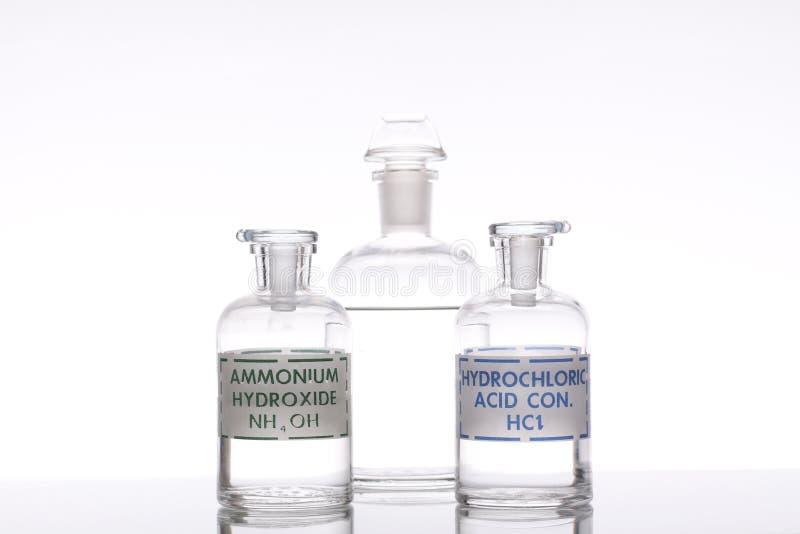 Решения кислоты и основания стоковое изображение