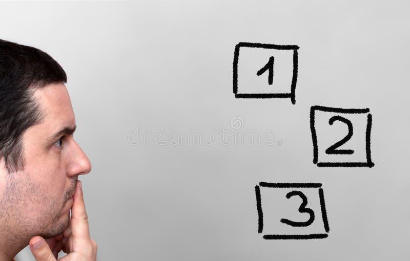 решения принципиальной схемы выборов стоковая фотография