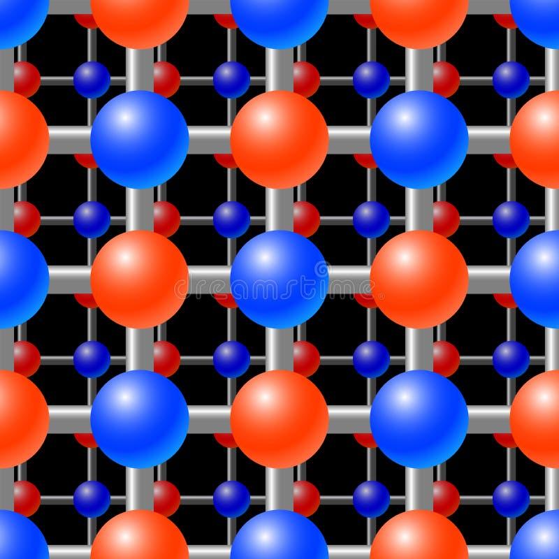 решетка абстрактной предпосылки кристаллическая бесплатная иллюстрация