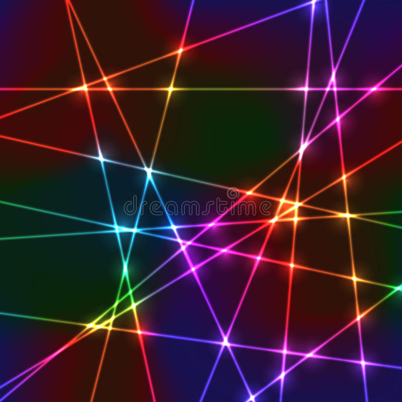 Решетка лазера случайная неоновая стоковые фотографии rf