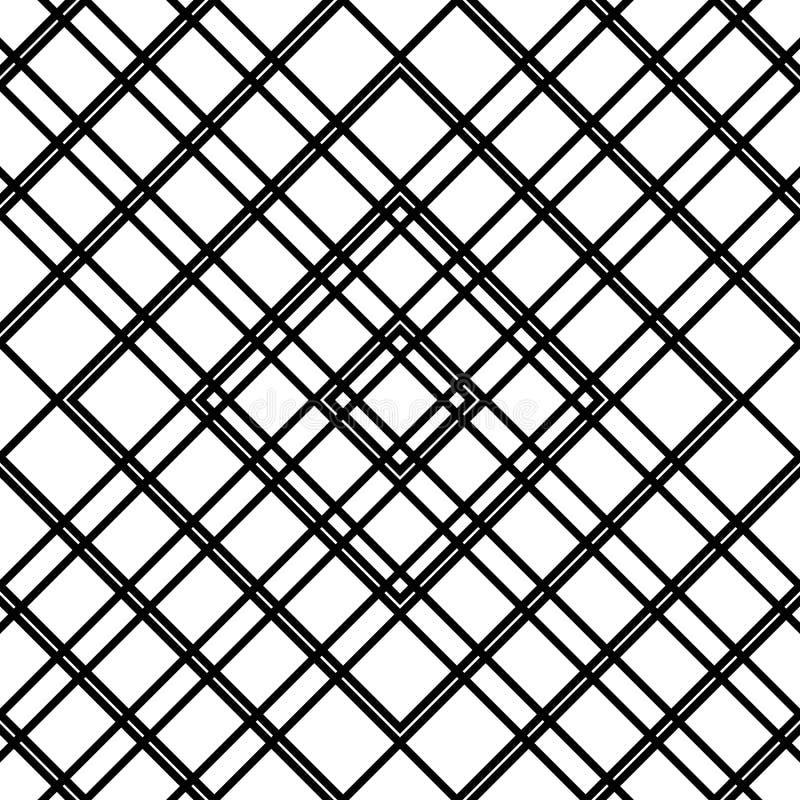 Download Решетка, картина сетки безшовная геометрическая Monochrome текстура Vecto Иллюстрация вектора - иллюстрации насчитывающей клетчато, reticulate: 81803737
