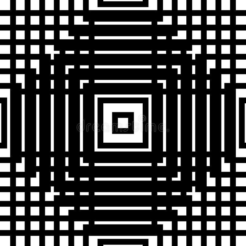 Download Решетка, картина сетки безшовная геометрическая Monochrome текстура Vecto Иллюстрация вектора - иллюстрации насчитывающей reticulate, минимально: 81803751