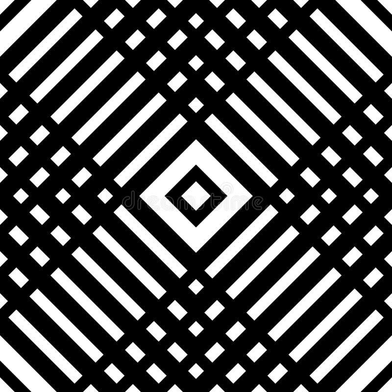 Download Решетка, картина сетки безшовная геометрическая Monochrome текстура Vecto Иллюстрация вектора - иллюстрации насчитывающей backhoe, repeatable: 81803809
