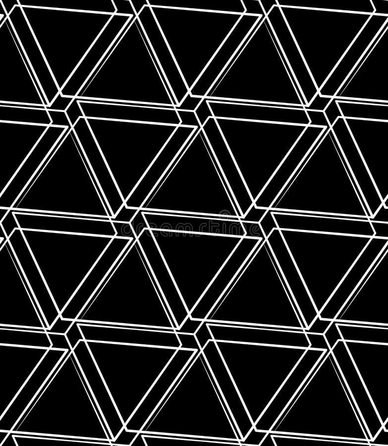Download Решетка, картина сетки безшовная Monochrome пересекая линии Иллюстрация вектора - иллюстрации насчитывающей reticulate, картина: 81803527