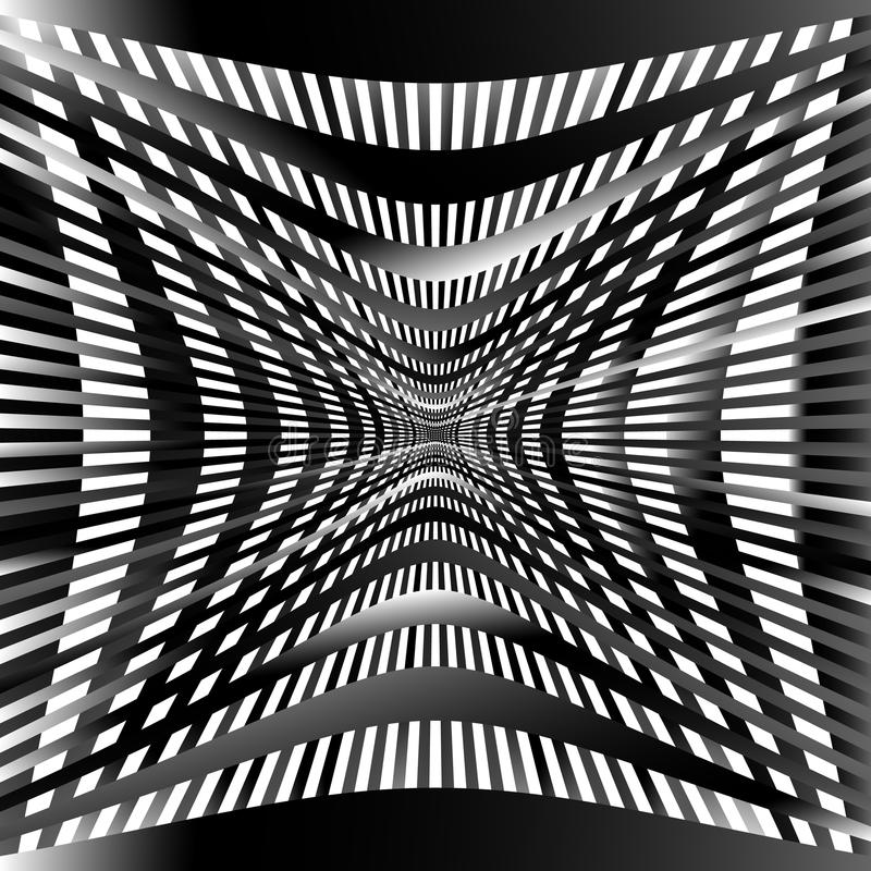 Download Решетка, картина сетки с искажением абстрактная геометрическая картина Иллюстрация вектора - иллюстрации насчитывающей flex, график: 81802931