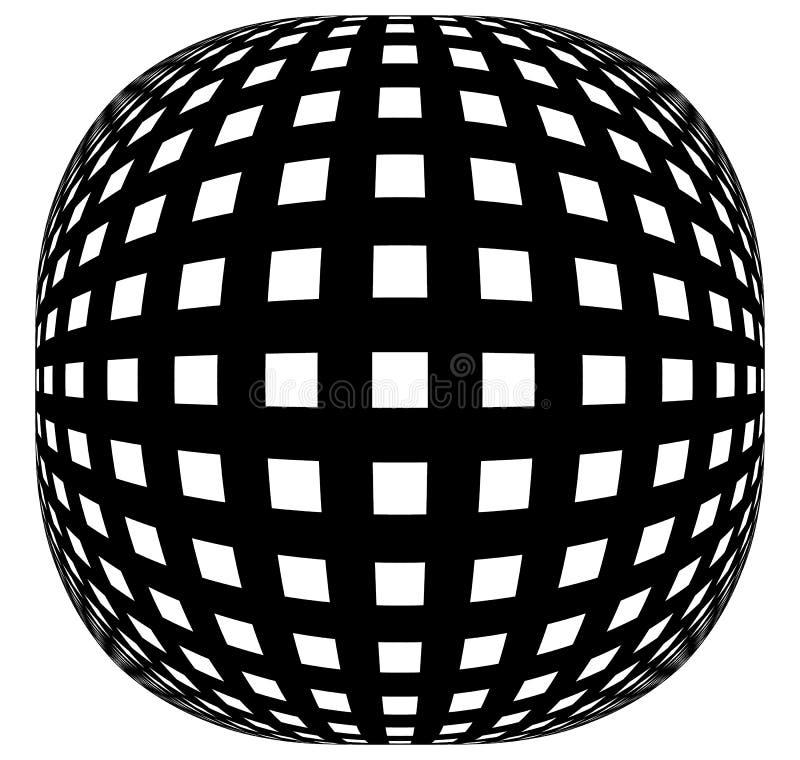 Download Решетка, картина сетки с искажением абстрактная геометрическая картина Иллюстрация вектора - иллюстрации насчитывающей flex, земля: 81803406